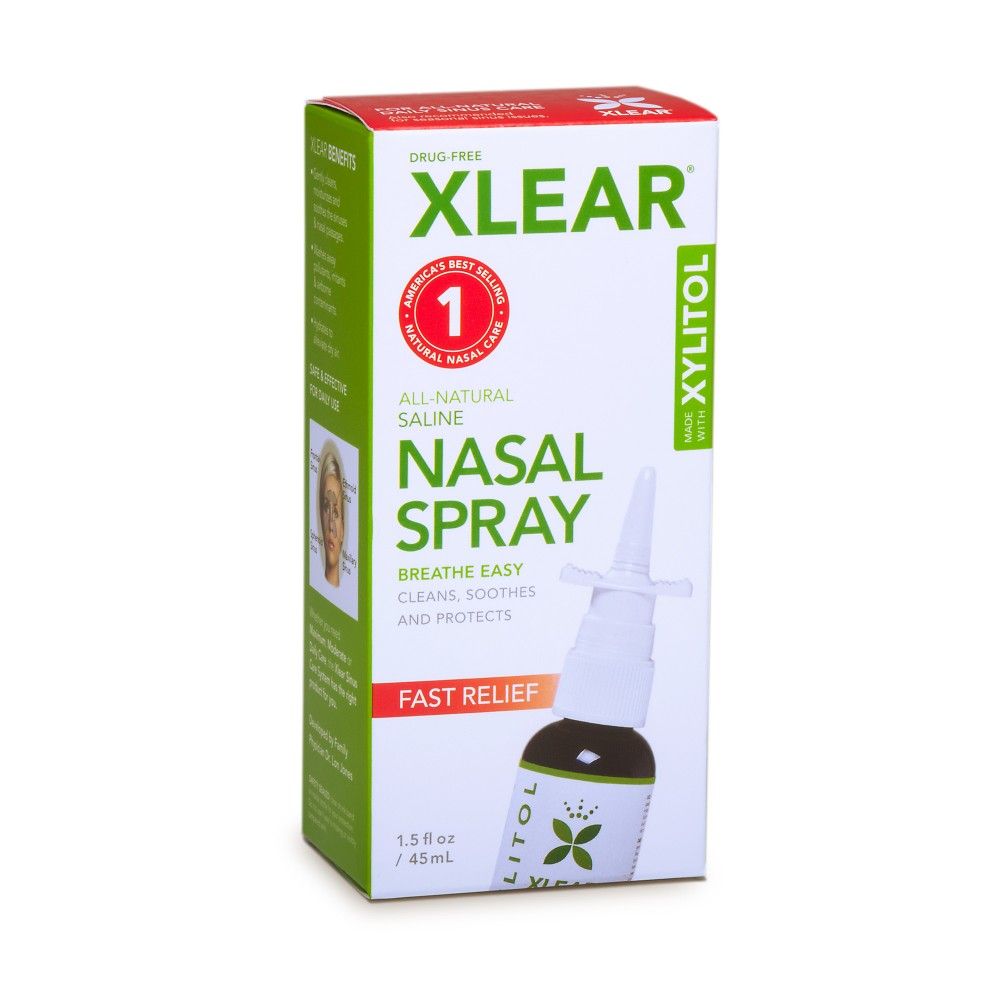 Xylitol (SUGAR FREE) Nasal Spray Measured Pump - 1.5fl oz