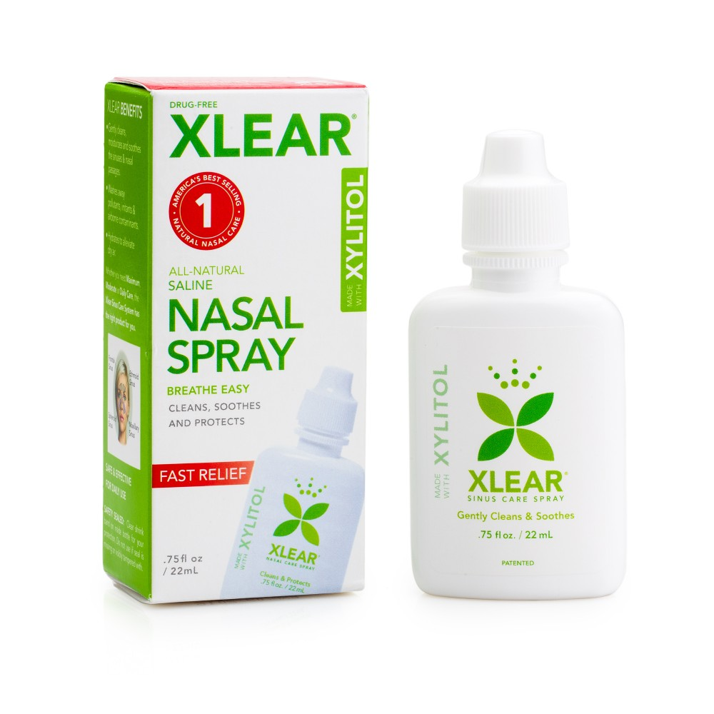 Kid's and Adult Xylitol (SUGAR FREE) Nasal Spray -with Saline 22mls (.75fl oz)
